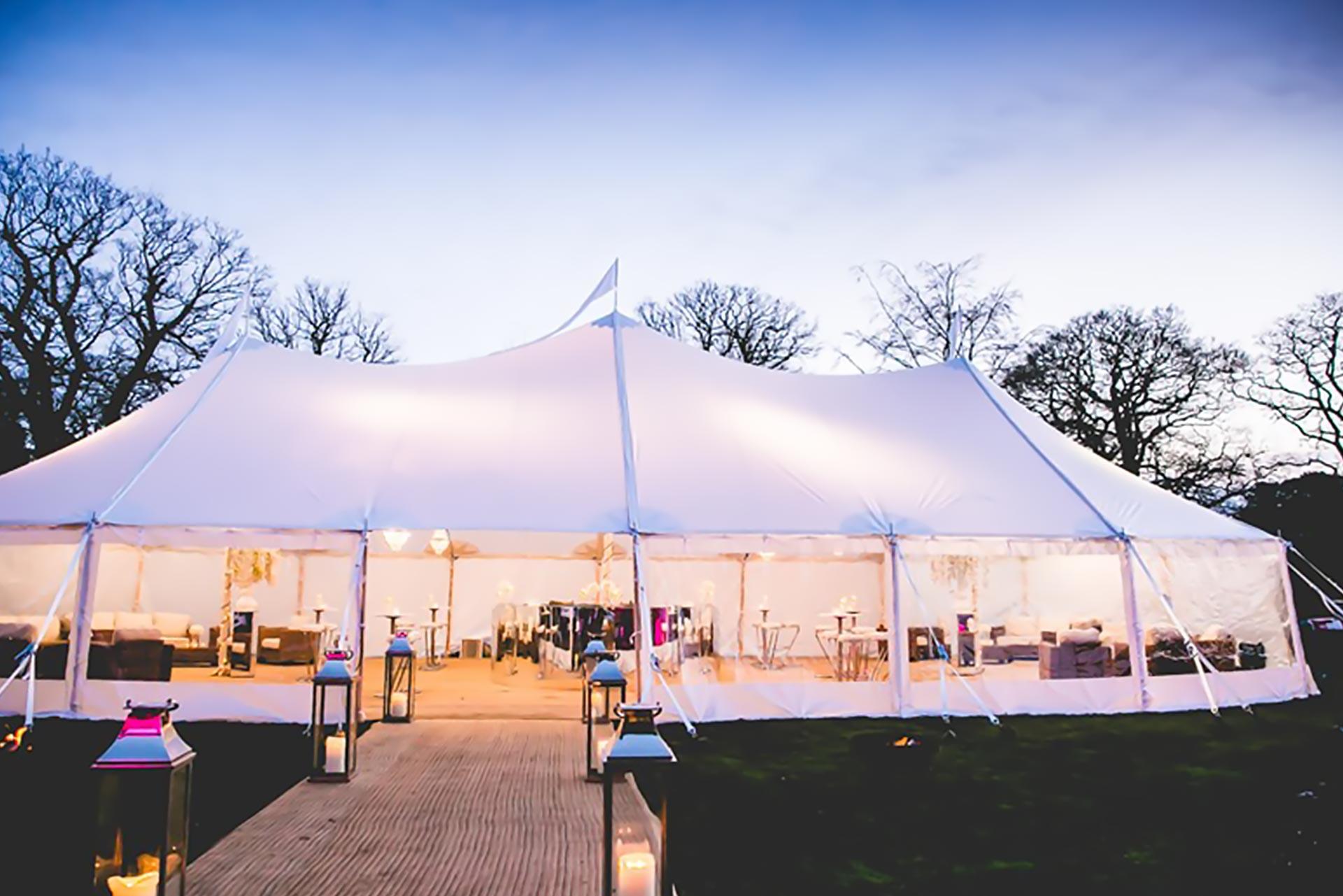 Tente Silhouette | Location de tente et chapiteaux